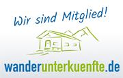Logo der Wanderunterk&uunfte