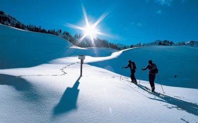 Winterwandern mit Schneeschuhen in Südtirol