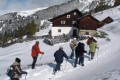 Wanderung im Schnee