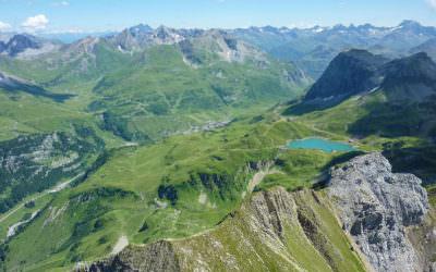Der Arlberger Klettersteig